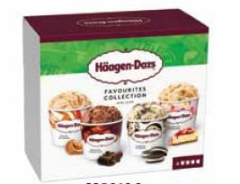 H-Dazs Mpk Little Favorites 400ml(Strawb Cheesec/Toffee Cream/Belgian Choco/Coock&Cream)