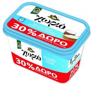 Μινέρβα Μαργαρίνη Χωριό Soft με Ελληνικό Γιαούρτι 250γρ +30% Προϊόν Δωρεάν
