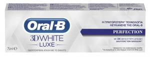 ORAL B 3D WHITE LUXE PERFECTION 75 ML