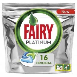 Fairy Platinum All In One Κάψουλες Πλυντηρίου Πιάτων 16 Κάψουλες
