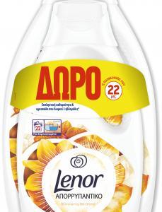 LENOR ΑΠΟΡ ΥΓΡΟ SILK ORCHID 2X(38+22MΕΖ)