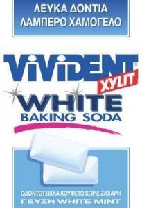 VIVIDENT XYLIT WHITE BAKING SODA WHITE MINT 12