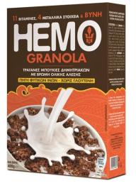 HEMO GRANOLA Χ. ΓΛΟΥΤ. 400G