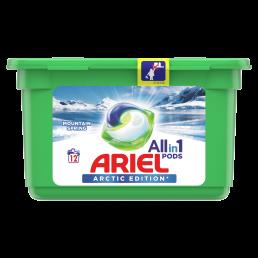 Ariel Allin1 PODs Mountain Spring Κάψουλες Πλυντηρίου - 12 Κάψουλες