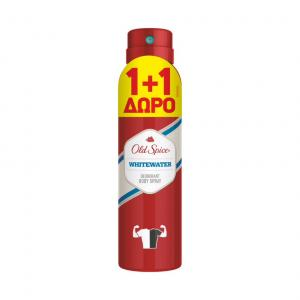 OLD SPICE DEO SPRΑΥ WHITEWATER 150ML(1+1 ΔΩΡΟ)