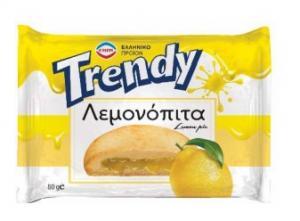 TRENDY ΛΕΜΟΝΟΠΙΤΑ 2Χ10Χ80ΓΡ