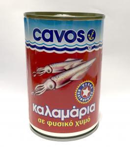 CAVOS ΚΑΛΑΜΑΡΙΑ ΣΕ ΦΥΣ ΧΥΜΟ 24x370gr