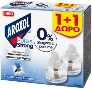 AROXOL PURE & STRONG LIQUID RFL 1+1 ΔΩΡΟx24ΤΜΧ