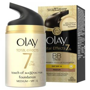 Olay Total Effects 7in1 Ενυδατική Κρέμα Make Up/Touch of Foundation BB Medium 50ml