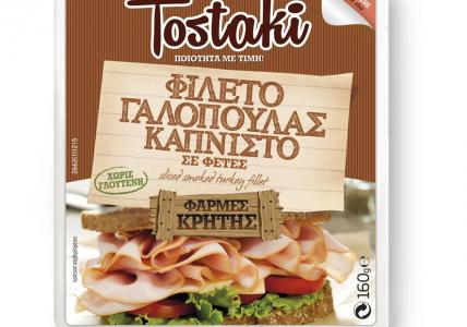CRETA FARMS TOSTAKI ΓΑΛΟΠΟΥΛΑ ΚΑΠΝΙΣΤΗ 160gr