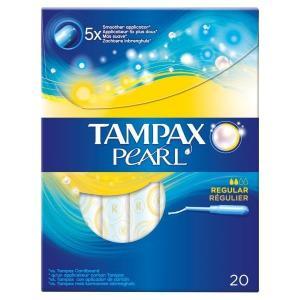 TAMPAX PEARL REGULAR 12X20