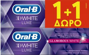 ORAL B 3DW LUXE GLAM WHITE 12x(75+75) ML