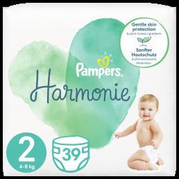 Πάνες Pampers Harmonie Value Pack Νο2 (4-8kg) 39τεμ