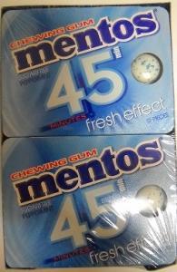 MENTOS 45MIN PEPPERMINT 12P BLISTER