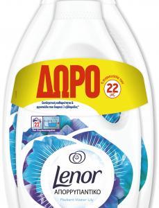 LENOR ΑΠΟΡ ΥΓΡΟ WATER LILY 2X(38+22MΕΖ)