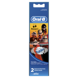 ORAL-B ΑΝΤΑΛΛΑΚΤΙΚΑ KIDS INCREDIBLES 2TMX