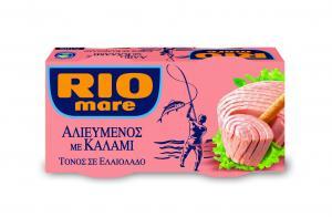 RIO MARE ΤΟΝΟΣ ΣΕ ΕΛΑΙΟΛΑΔΟ ΑΛΙΕΥΜΕΝΟΣ ΜΕ ΚΑΛΑΜΙ 2x160g