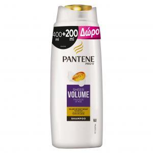 PANTENE ΣΑΜΠ ΟΓΚΟΣ 6Χ(400+200ML)