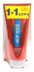 Wella New Wave Hair Gel Rock&Hold 200ml + 200ml δώρο
