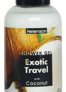 HELENSON SHOWER GEL EXOTIC TRAVEL (COCONUT)  12x500ml