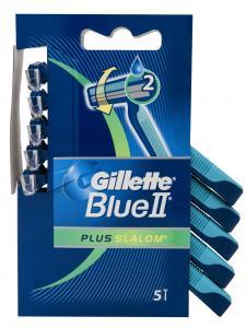 Gillette Ξυραφάκια BlueII Plus Slalom (5 τεμάχια)