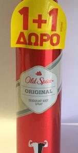 OLD SPICE DEO SPRΑΥ ORIGΙΝΑL 150ML(1+1 ΔΩΡΟ)